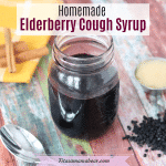 Elderberry Cough Syrup Recipe - (6 Ingredients, Potent Cold & Flu Remedy)