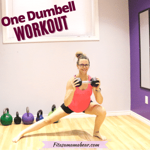 Quick Dumbbell Workout At Home (12 Minutes, Total Body, With Video)