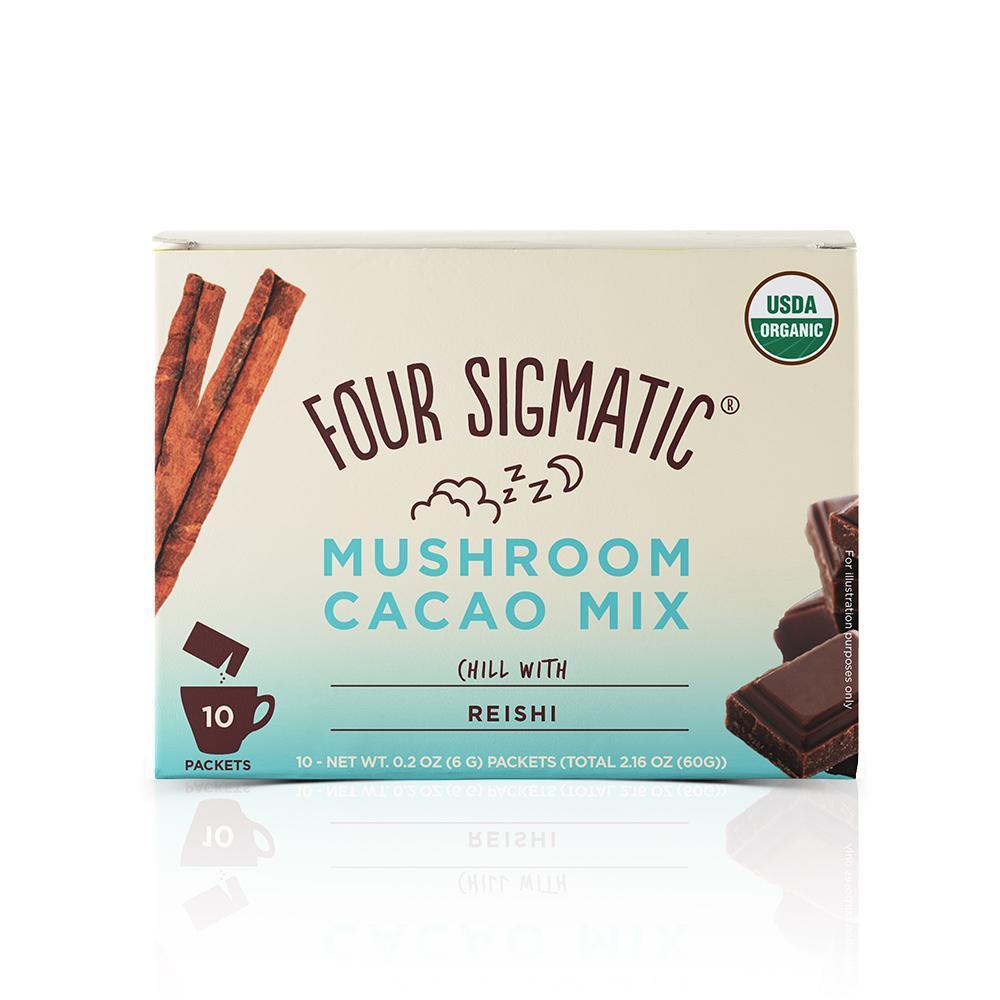 Four sigmatic mushroom coffee in a box