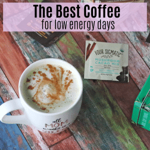Featured image with text: coffee in a white mug with instant coffee packs around it