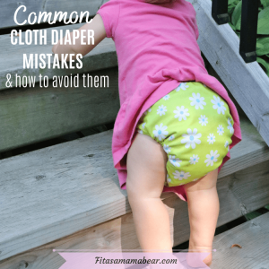 Featured image with text: a baby in a pink shirt and green cloth diaper climbins wooden stairs