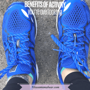 Featured image with text: blue running shoes close up