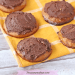 Paleo Cashew Butter Cookies With Chocolate Frosting