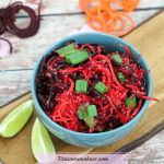 Thai Quinoa Stir Fry With Beets & Carrots (dairy-free, gluten-free, vegan)